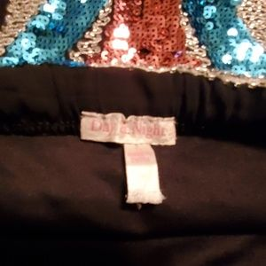 day & night Skirts - Day&Night Beaded Sequin Skirt Large